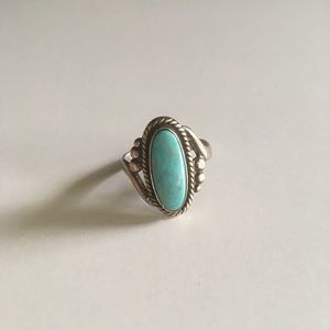 Vintage Bell Sterling Co. Turquoise Ring